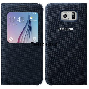 Etui Samsung S-view Cover Samsung Galaxy S6 EF-CG920BBE